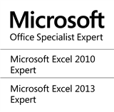 Microsoft Office Specialist Expert for Excel 2010 / Excel 2013