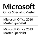 Microsoft Office Specialist Master for Office 2010 / Office 2013